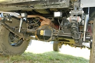 2001 nissan frontier rear axle