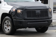 toyota tundra spied front end