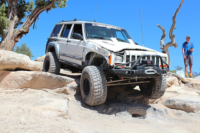 Rolled But Not Resting: The Davenport's 2001 Jeep XJ Cherokee