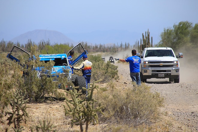 Sweeping Up At The NORRA Mexican 1000