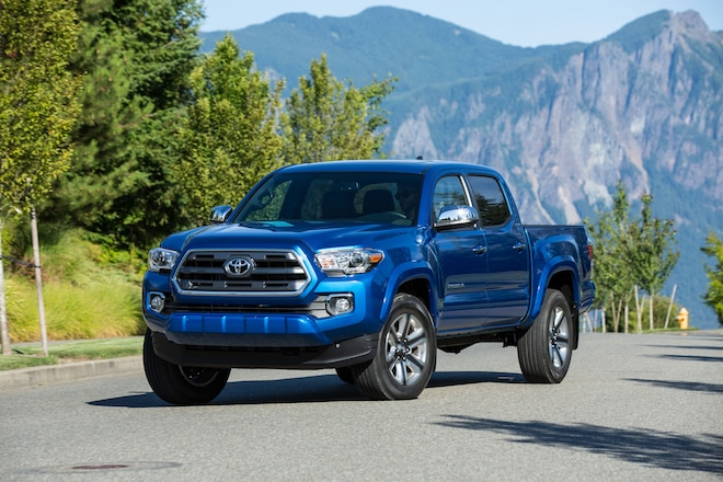 A look at the all-new 2016 Toyota Tacoma.