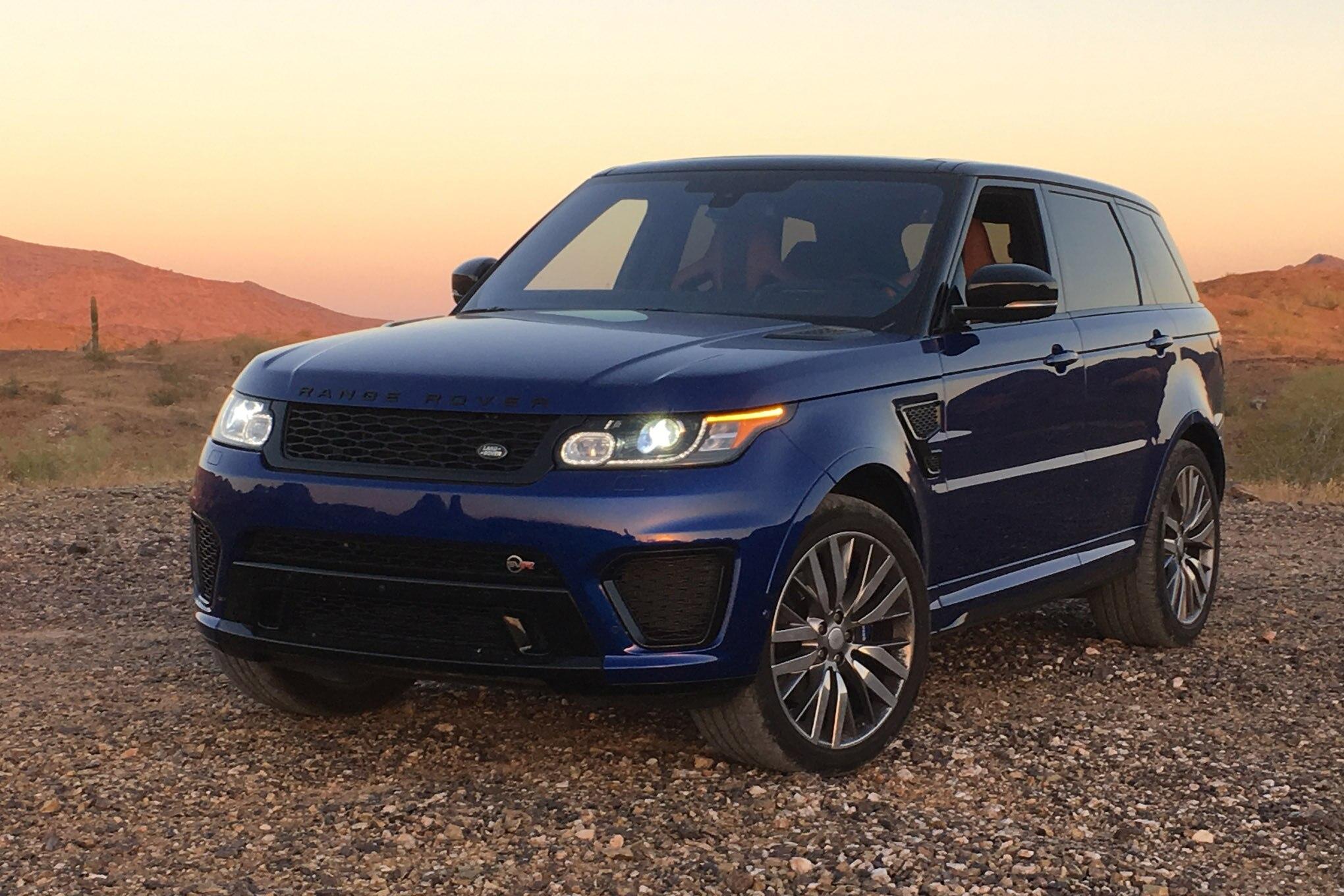 2016 Range Rover Sport SVR Long Term Report 1