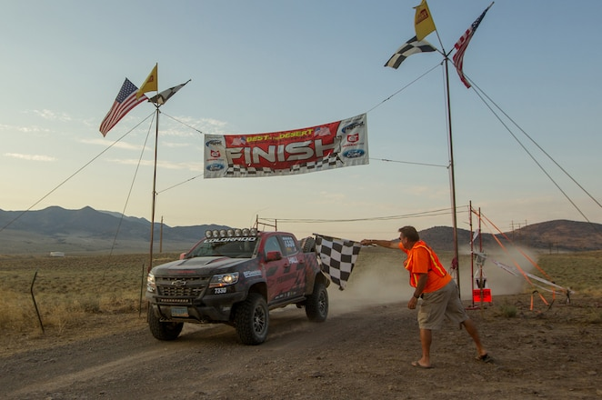 Hall Racing Finishes Vegas to Reno With New Chevy Colorado ZR2
