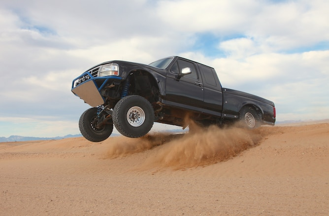 1993 Ford F-150 Goes From Riding The Rails To Railing Berms