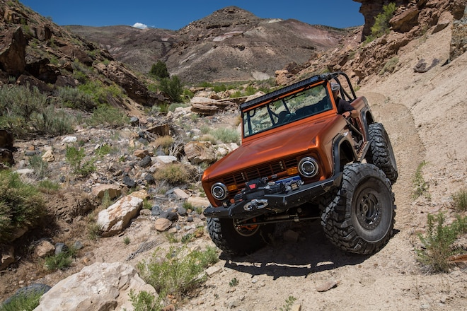 1970 Ford Bronco: One Bad Bronco Built to Rock