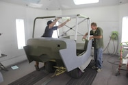 jeep wranger coating body in primer