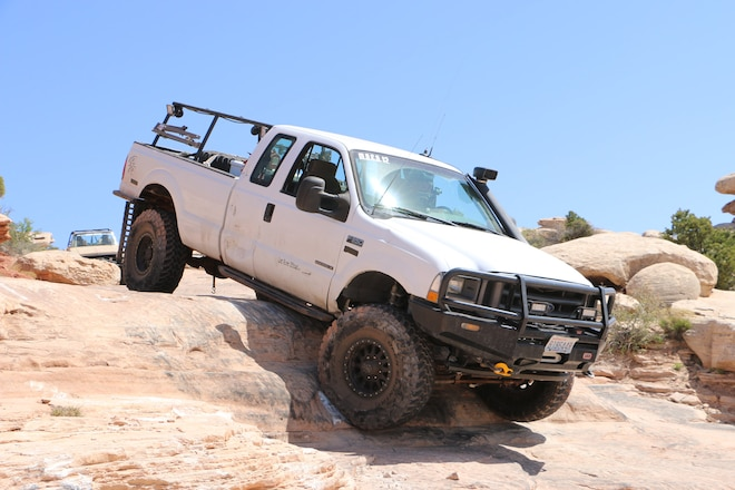 2002 Ford F-350: A Rockcrawler And Overlander In One