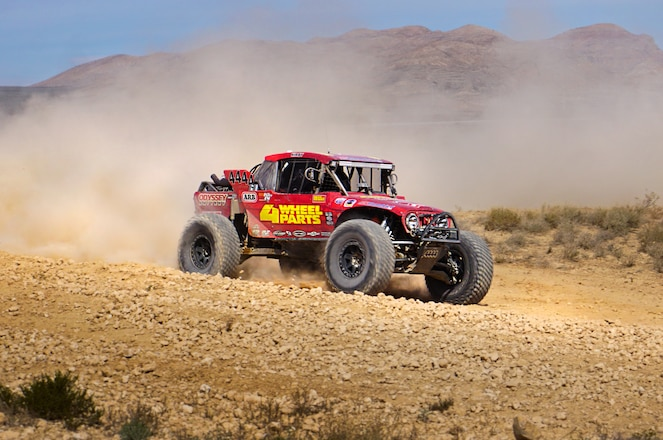 4 Wheel Parts' Greg Adler and Rob MacCachren Win 4400 Class at Mint 400