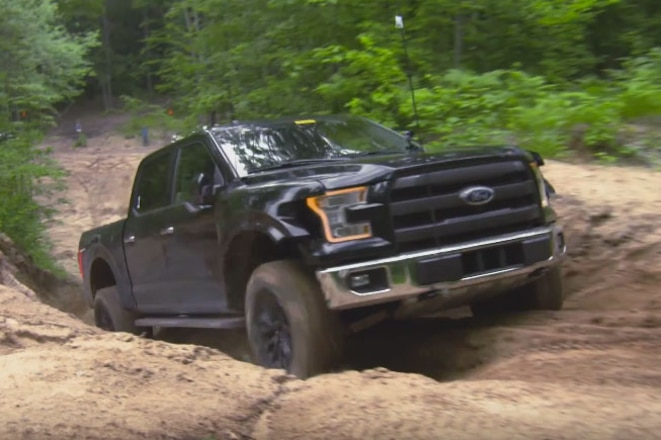 2017 Ford Raptor Prototype Trail Testing Video