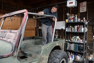 gpw jeep flatfender flattie rollcage dom weld welding cage fabrication prp seats cappa lpr