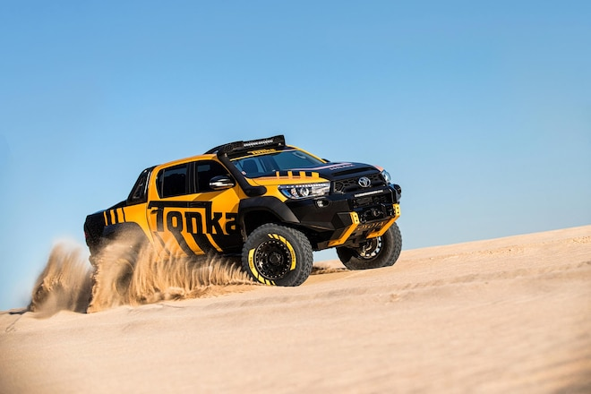 Toyota Australia Builds Real-Life Hilux Tonka Toy
