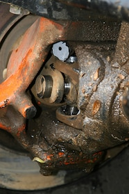 Banging, whirring, and clunking noises coming from an axle