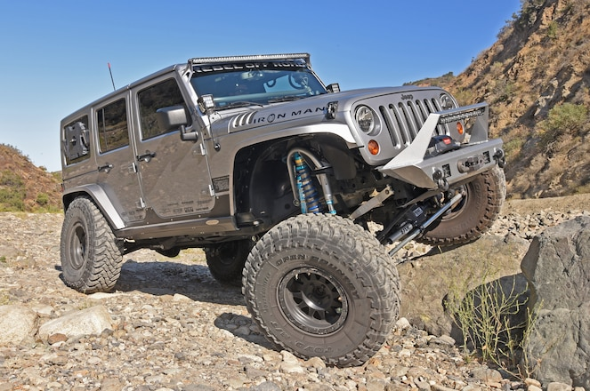 This custom 2013 Jeep Wrangler JK is loud and clear about its off-road ability