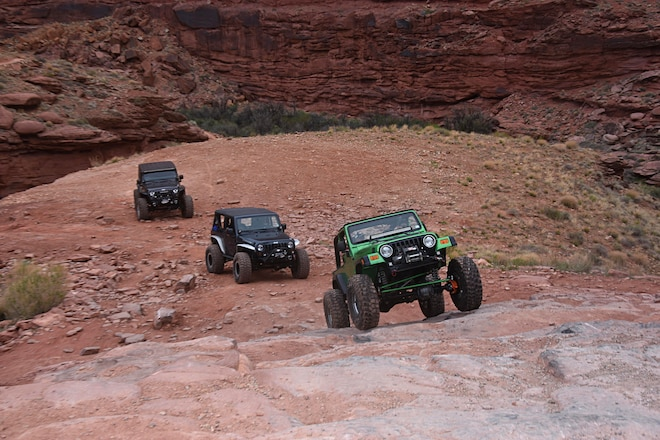 A Few Quick Obstacles Close To Moab