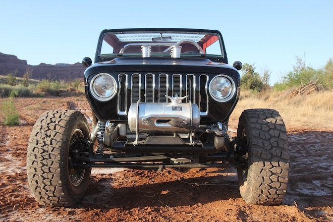 The New Wrangler Grille: Did Jeep Just Put The Next Wrangler Face Out In Broad Daylight In Moab?