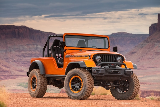 Stunning Jeep CJ66 Concept At The 2017 Easter Jeep Safari: Photos, Exclusive Video, Opinions
