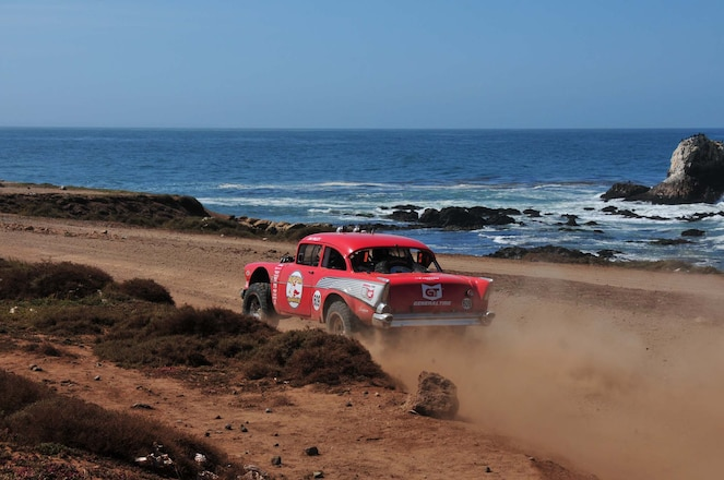 Wrecking and Racing a 1957 Chevy at the 2015 NORRA Mexican 1000 Will Change Your Life
