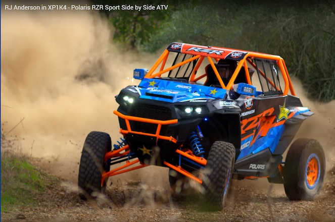 RJ Anderson Puts Polaris RZR Through Its Paces in Fourth XP1K4 Video