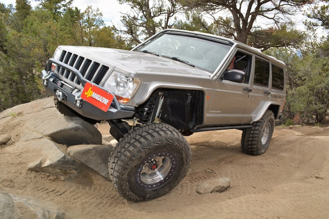 Supercharged 2000 Jeep Cherokee Leads With 2500 Series Grille