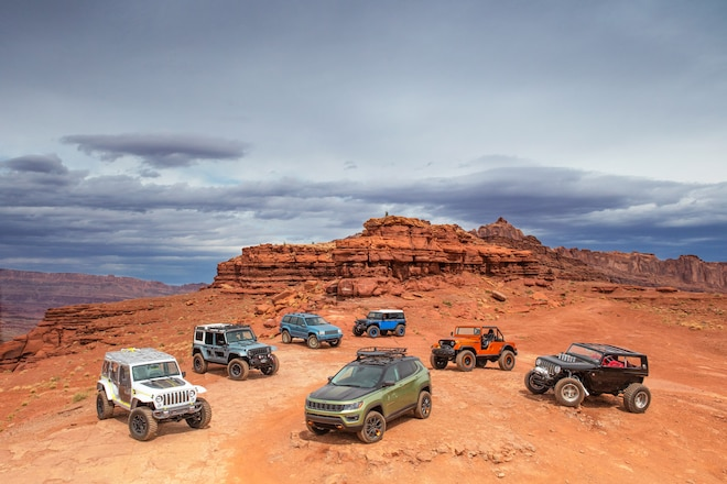 Jeep & Mopar Concepts in Moab