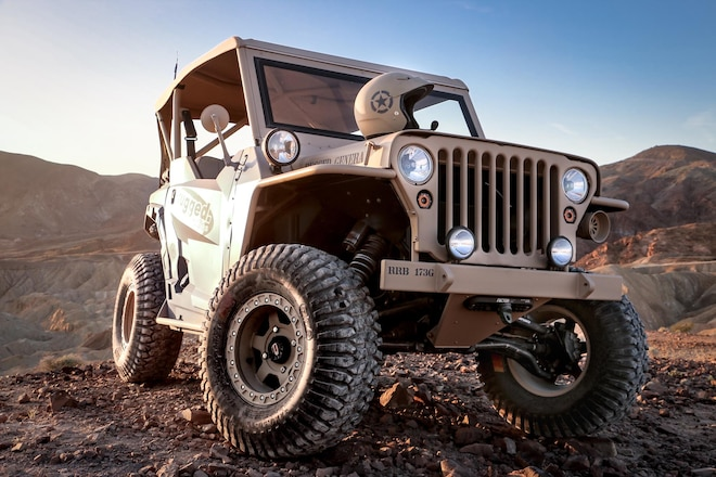 Rugged Radios Builds Wild Willys Polaris General