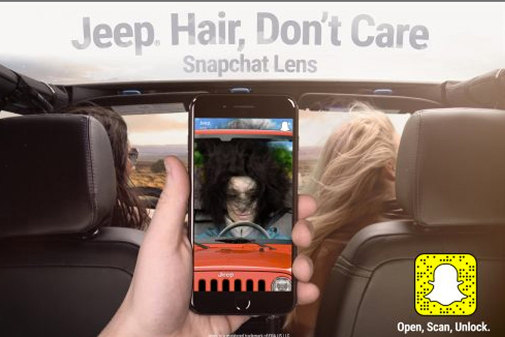 auto news jp jeep jeep hair dont care snapchat lens facebook twitter instagram blog 4x4 day