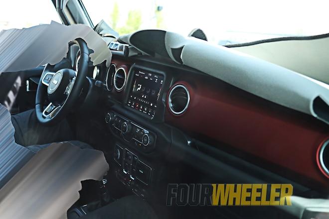 2018 Jeep Wrangler JL Interior Revealed!