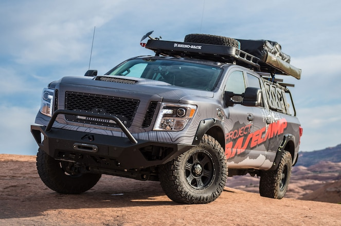 """Nissan Brings Adventure-Themed Titan XD """"Project Basecamp"""" to Overland Expo"""