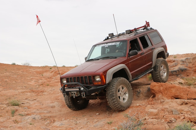 Jeff Meikle And His 4.7L 2000 Jeep XJ Are Big Winners