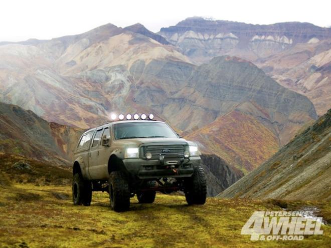 Talkeeta Mountains Alsaka Four Wheeler Trails - The Last Frontier