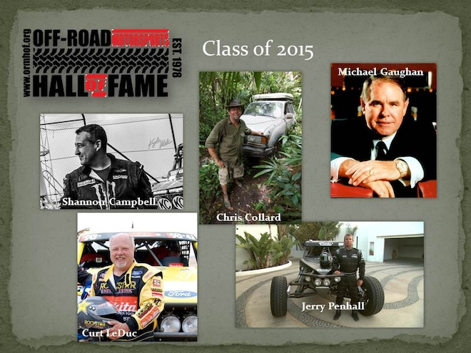 2015 Off-Road Motorsports Hall of Fame Induction Tickets on Sale
