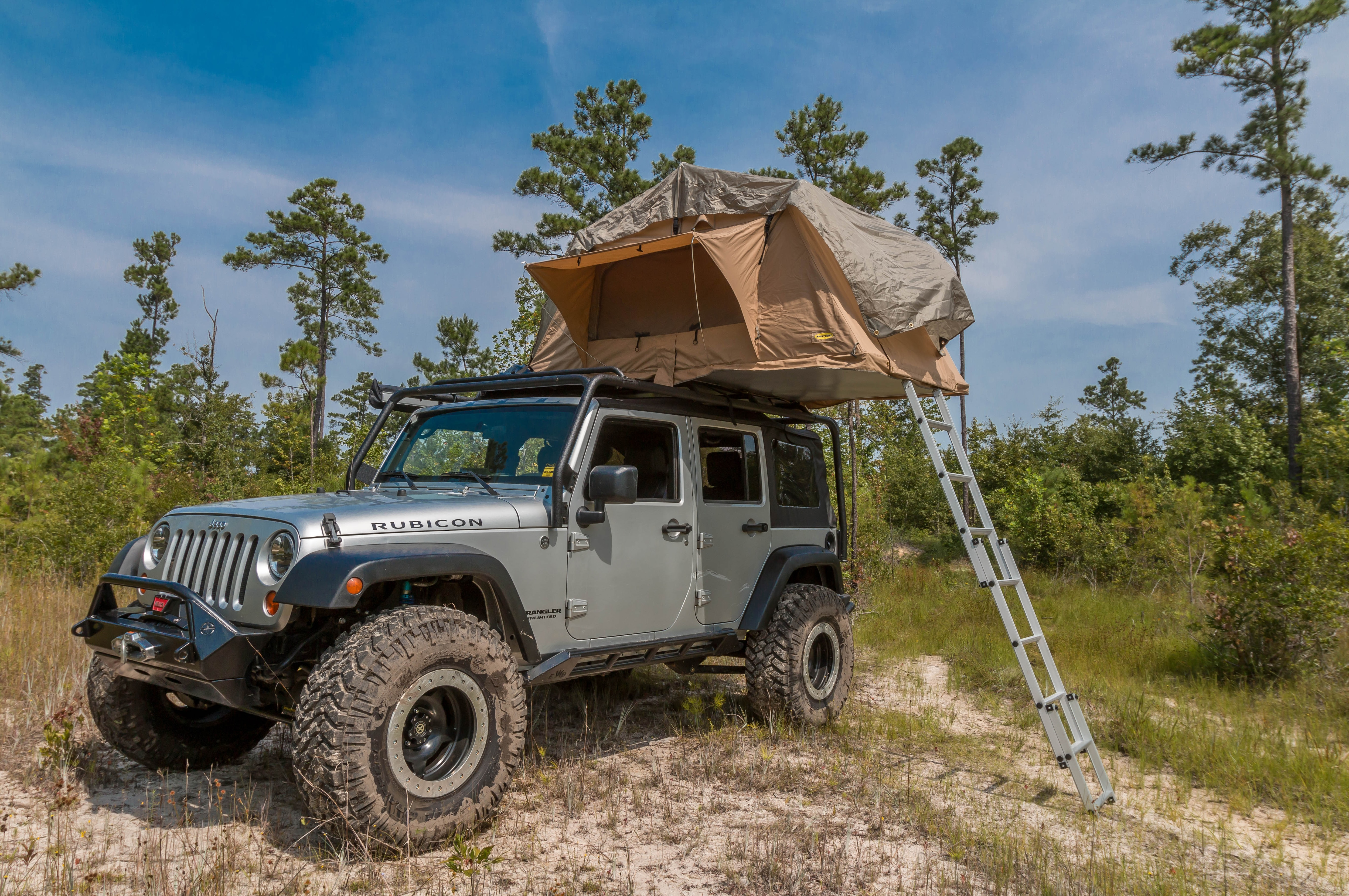 001 2007 Jeep Wrangler Unlimited Jk Smittybilt Roof Top ...