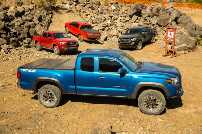 The Newly Redesigned 2016 Toyota Tacoma Boasts More Trail Prowess and Better Mileage Than Its Predecessor.