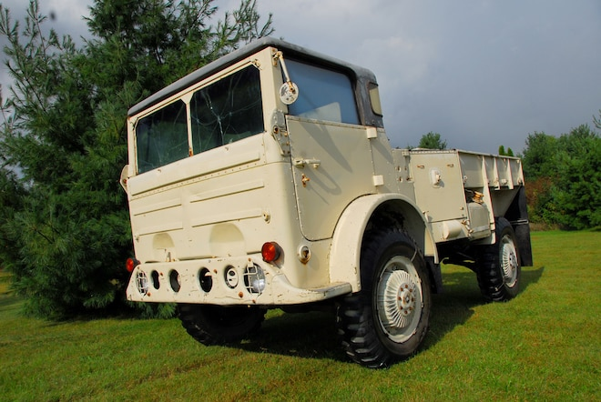Backward Glances: 1952 Chrysler T53E1- A Lost Branch On The Power Wagon Family Tree