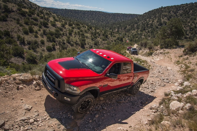Off-Road To Jerome: Taking The Dirt Route To Gold King Mine Ghost Town Via Ram Truck