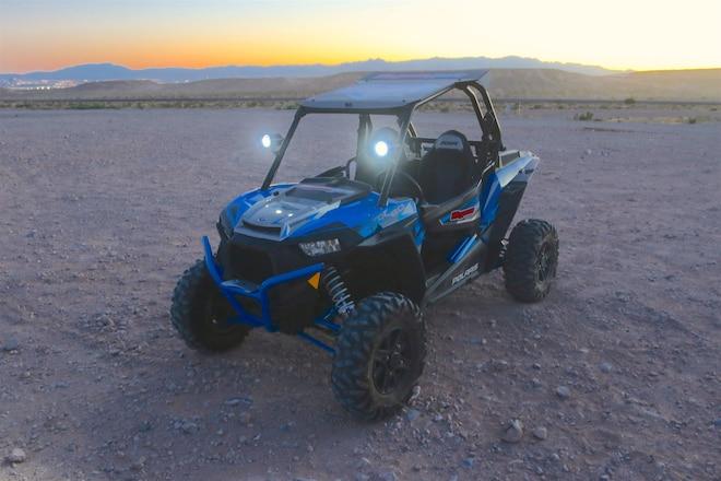 Dynojet's New Gyro Vision Trail Tracking Led Light Pods