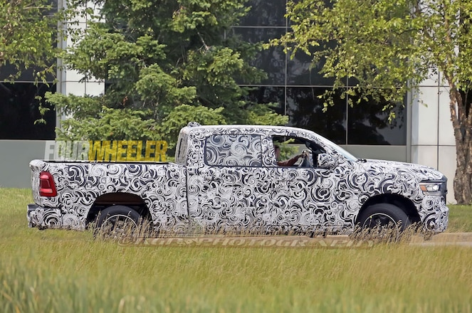 SPIED: 2019 Ram 1500 Wearing Limited Camo