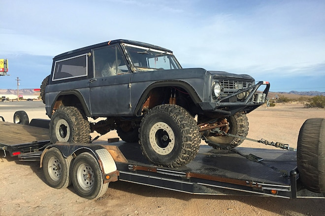 1969 Ford Bronco Project
