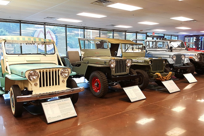 Hundreds Flock To The 2nd Annual Omix-ADA Jeep Heritage Expo