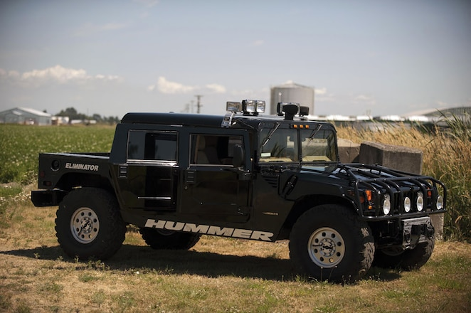 Tupac's Custom Hummer H1 is For Sale (Again)