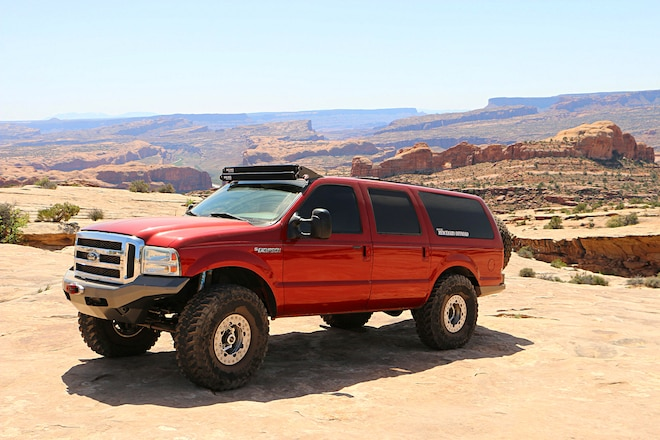 2001 Ford Excursion: Travis Raville's Excursion Means Adventure for the Whole Family