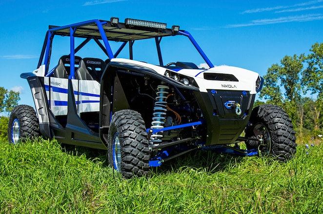 Get Charged Up About the Nikola Zero Electric UTV