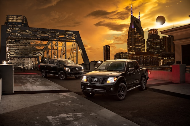 Nissan Adds Frontier and Titan to Midnight Edition Lineup