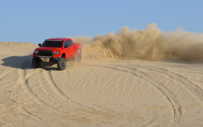 Full Sized Toyota PreRunner Is Big Time Fun