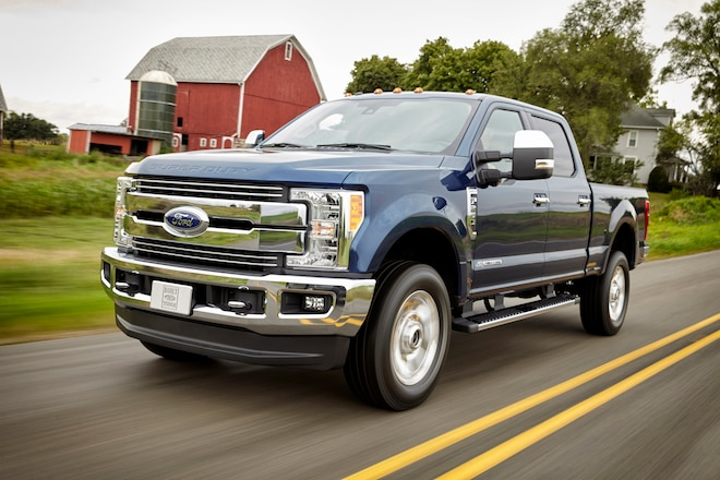 Five Hard-Working Features of the 2017 Ford F-Series Super Duty