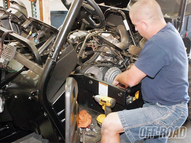 Project Built To Win 2008 Yamaha Rhino 700 - Off-Road Magazine