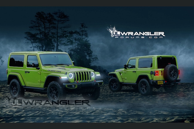 Dreaming of the Wrangler JL in Digital