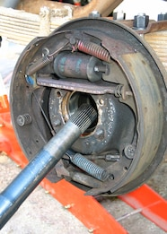 008 ford 9 inch nine rear axle rearend housing axlehousing