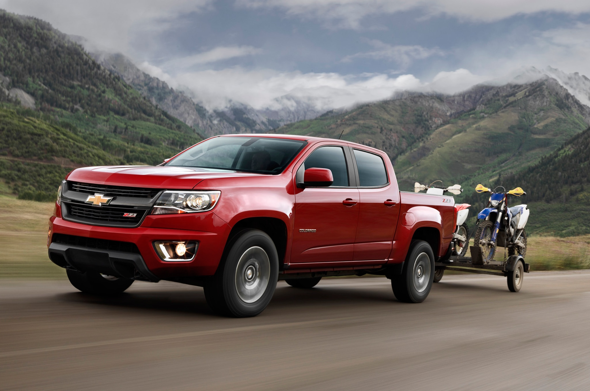2015 Chevrolet Colorado Z71 towing1
