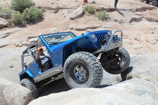 A Midwestern  2005 Jeep LJ that's Right at Home Out West